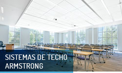 Techos registrables Sistemas de techo Armstrong- Escayolas Bedmar