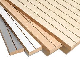 Paneles acústicos madera