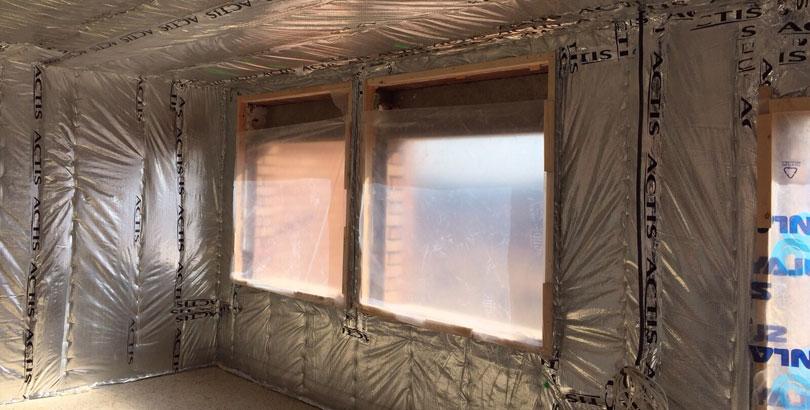 Aislamiento termico multi-reflectante Actis