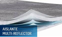 Aislante multi-reflector Actis - Escayolas Bedmar