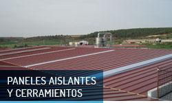 Paneles aislantes y cerramientos metálicos - Escayolas Bedmar