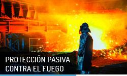 Proteccion pasiva contra el Fuego - Escayolas Bedmar