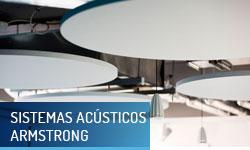 Sistemas acústicos Armstrong - Escayolas Bedmar