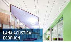 Techos registrables lana acústica Ecophon - Escayolas Bedmar