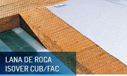 Lana de roca Isover para cubiertas y fachadas - Escayolas Bedmar