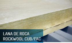 Lana de roca Rockwool para cubiertas y fachadas - Escayolas Bedmar