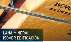 Lana mineral Isover Edificación - Escayolas Bedmar