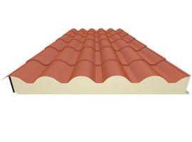 Panel teja Alubel - Escayolas Bedmar