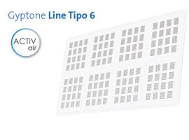 Techo Gyptone Line Tipo 6