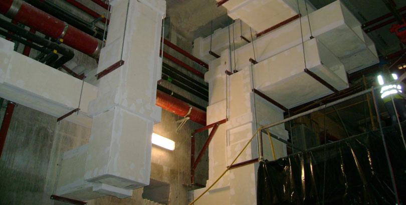 Conductos múltiples de ventilacion EI120