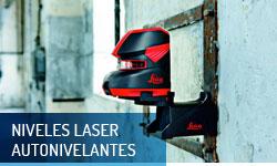 Niveles laser autonivelantes - Escayolas Bedmar