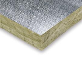 Lana mineral Terra Panel Alumino Gofrado