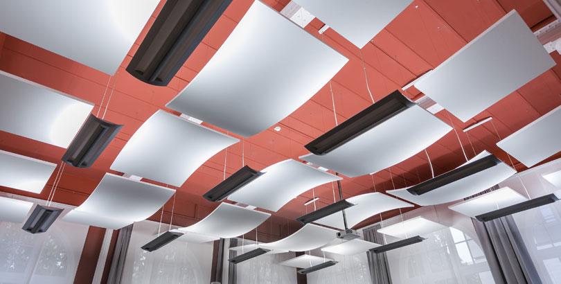 Sistemas acústicos Armstrong Optima Canopy curved