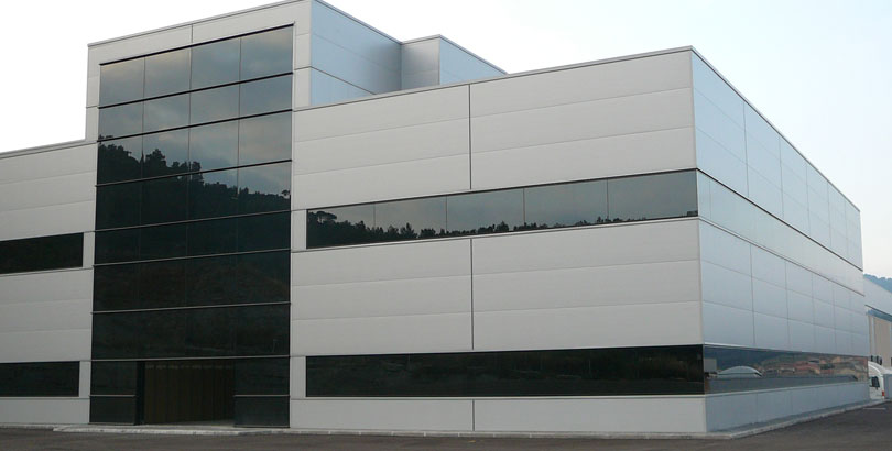 Panel fachada obra