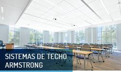 Techos registrables Sistemas de techo Armstrong- Escayolas Bedmar