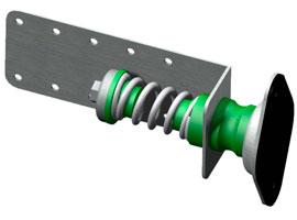 Aislador acustico Senor gama pared 4800-TDM
