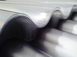 Placas de policarbonato compacto Gran Onda