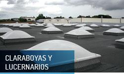 Claraboyas y lucernarios para cubiertas - Escayolas Bedmar