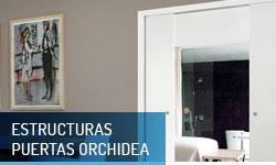 Estructuras para puertas correderas Orchidea - Escayolas Bedmar