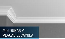 Molduras y placas de escayola - Escayolas Bedmar