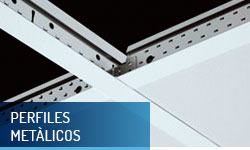 Perfiles para techos registrables - Escayolas Bedmar