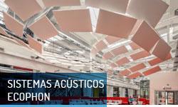 Sistemas acústicos Ecophon - Escayolas Bedmar