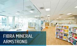 Techos registrables fibra mineral Armstrong - Escayolas Bedmar
