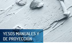Yesos manuales y de proyección - Escayolas Bedmar