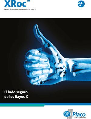 Placa xroc protección Rayos-X