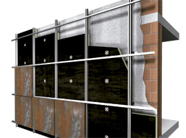 Aislamiento térmico Lana mineral Isover Ecovent 035