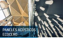 Paneles acústicos EcoCero - Escayolas Bedmar