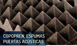 Copopren, espumas y puertas acusticas - Escayolas Bedmar