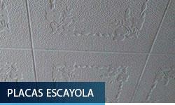 Placas de escayola - Escayolas Bedmar